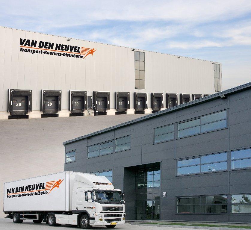 grayvis logistics vrachtwagen van den heuvel